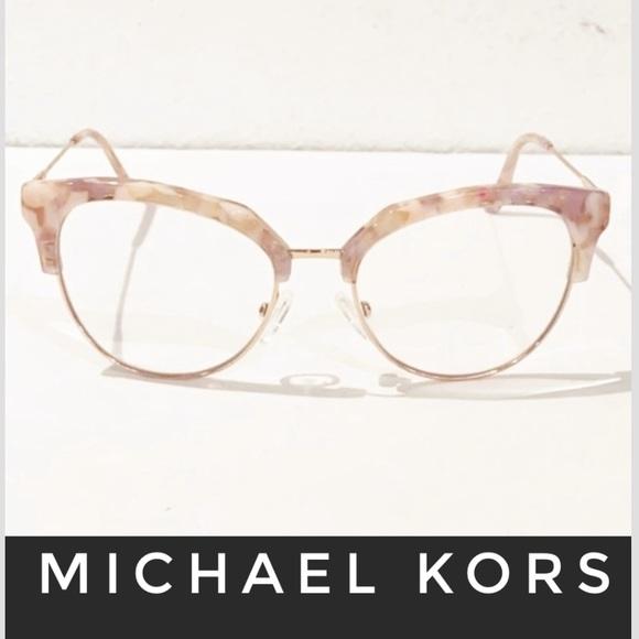 Auth Michael Kors Rose Mosaic prescription glasses